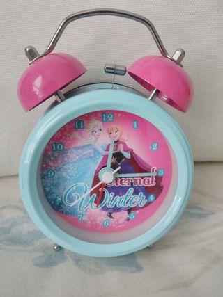 Reloj Despertador Frozen con luz