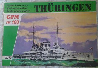 Maqueta de cartón GPM 103 Thuringen