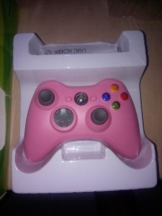 mando Xbox 360 Rosa