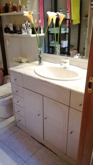 mueble de baño marmol