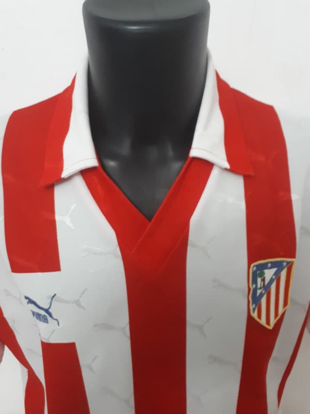 camiseta atletico de madrid negra