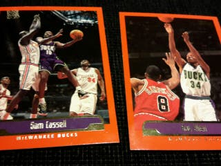 Lote 22 Cards NBA Topps 2000