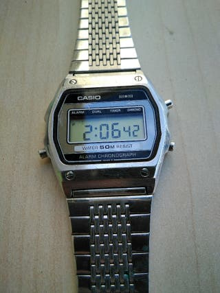 Casio vintage, WS-71, año 1981, Made in Japan.