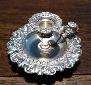 palmatoria de plata barroco