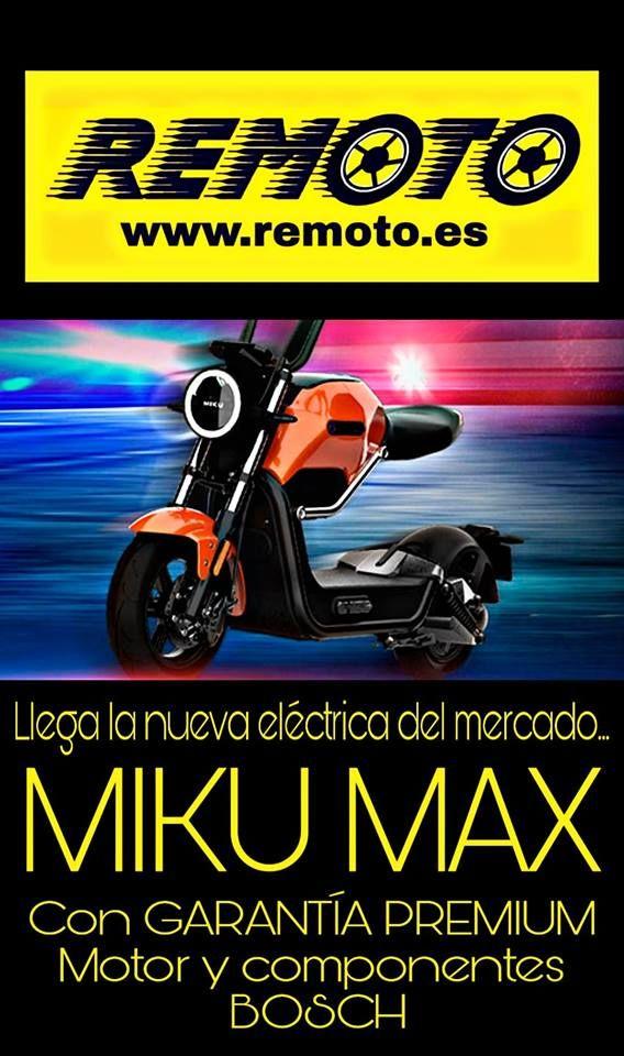 SCOOTER ELECTRICA NUEVA MIKU MAX
