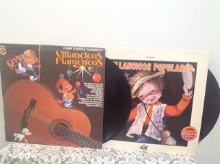 Dos discos de vinilo de villancicos x 5 euros