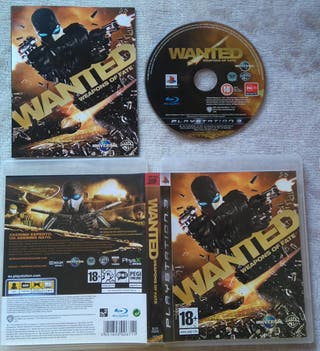 WANTED WEAPONS OF FATE PS3 PLAY3 NUEVO
