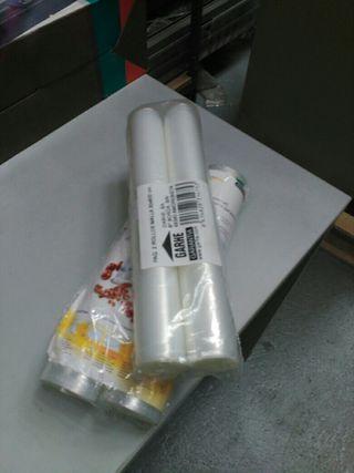 Rollos de plástico para envasar al vacío de 30ct+6