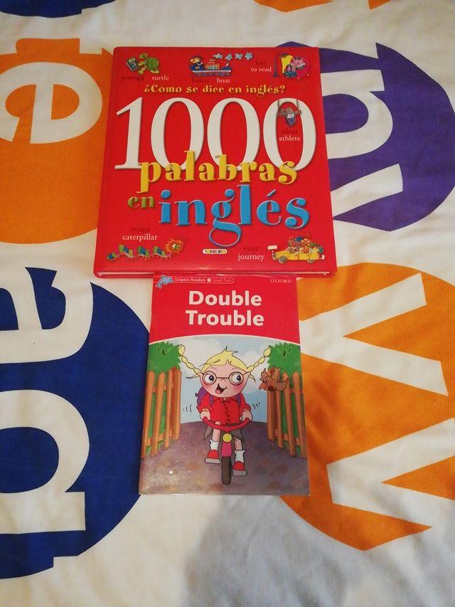 libro 1000 palabras en inglés y double trouble