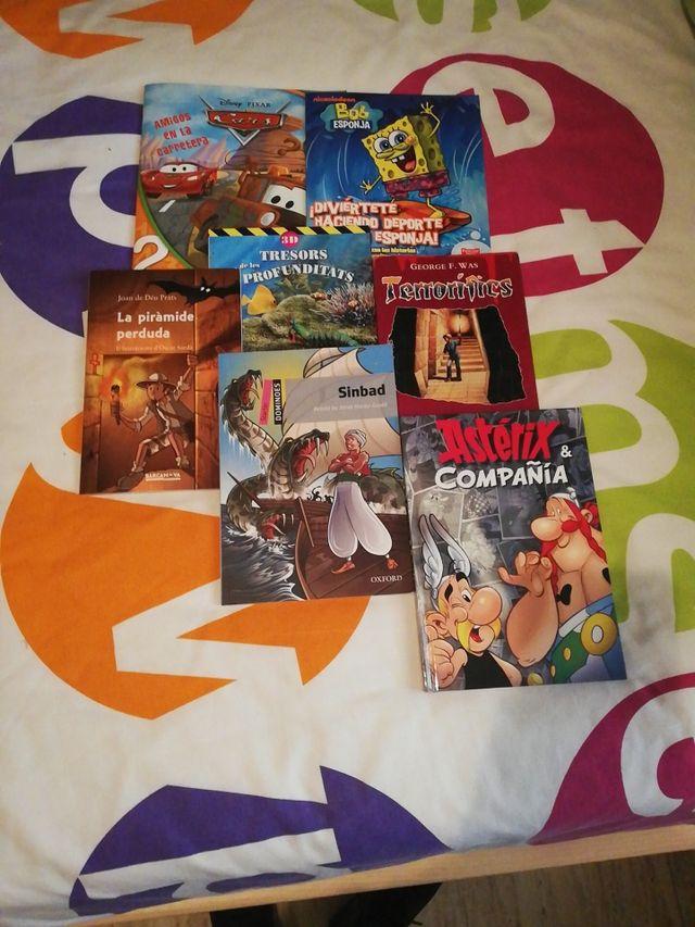 Lote 7 libros