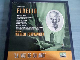 Disco vinilo Fidelio La voz de su amo Beethoven