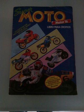 Album de cromos Super Solo Moto
