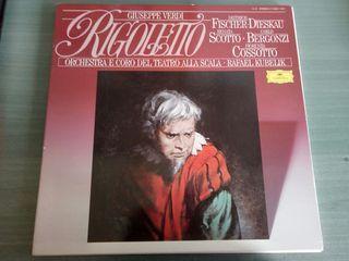 Disco Estuche Rigolletto Giuseppe Verdi