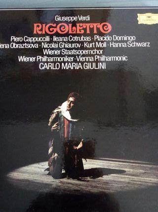 Disco vinilo Estuche lp Rigolletto Viena