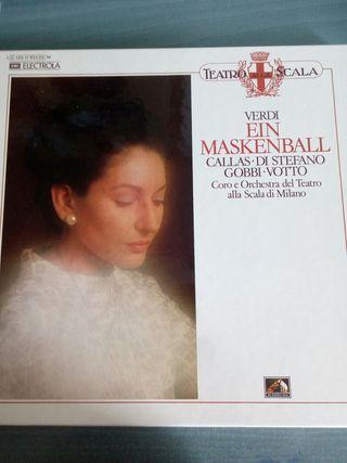 Disco Estuche vinilos clásica Verdi