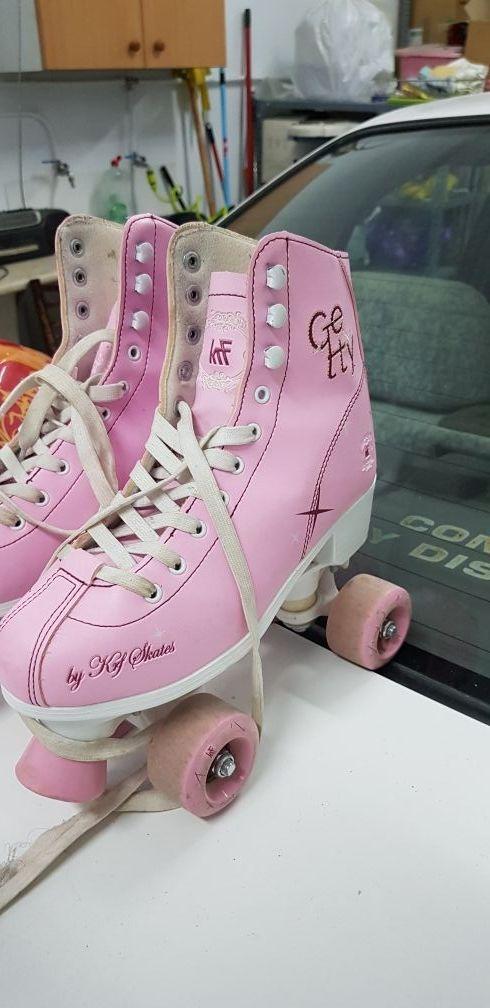 Patines rosa para niña