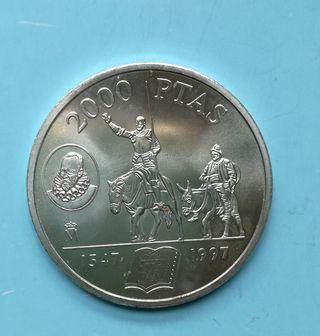 Moneda Cervantes, El Quijote 2000 pesetas