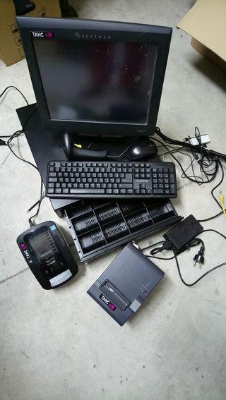 TPV con caja registradora negocios