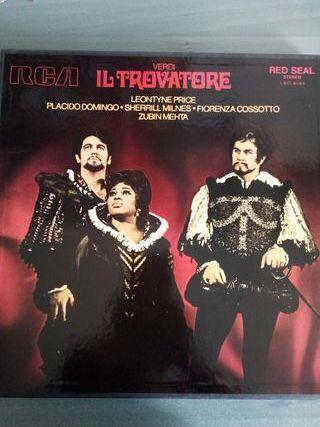 Disco vinilo Verdi Il Trovatore música clásica