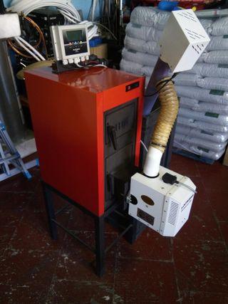 Caldera biomasa de segunda mano en wallapop - Caldera pellets segunda mano ...