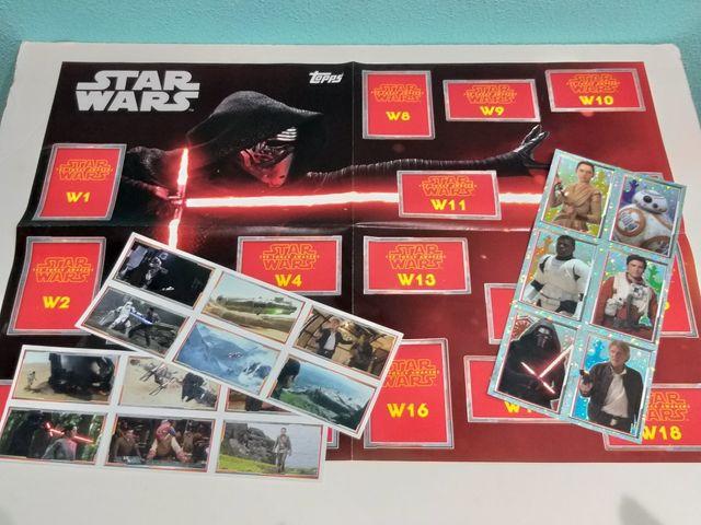 Star Wars álbum de cromos Topps