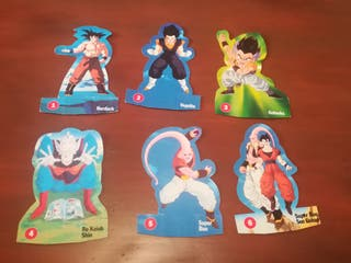 Cromos troquelados Dragon Ball