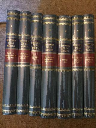Colección de libros HISTORIA DE LA MÚSICA