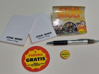 Star Wars Lote merchandising Web Spain. Pbp