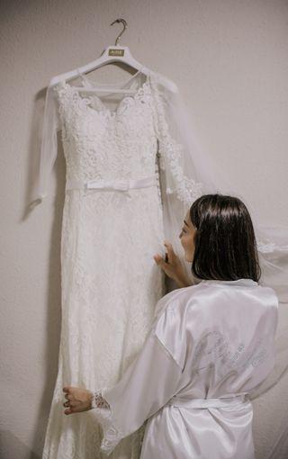 vestido de novia+complementos