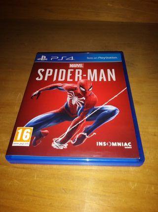 JUEGO SPIDER-MAN PS4.