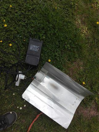 lampara cultivo 400w
