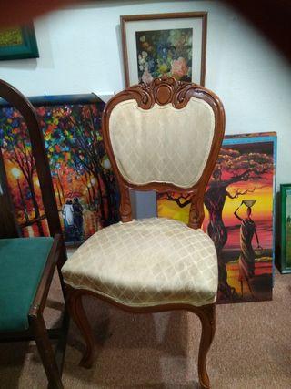 silla señorial