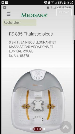 Thalasso Pieds Medisana