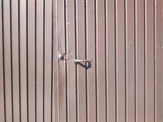 Portal chapa galvanizada 2.65 de ancho x 2 de alto