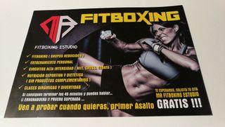 MR Fitboxing Estudio .. entrenamiento