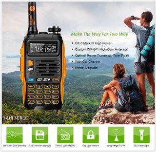 emisora portatil VHF UHF