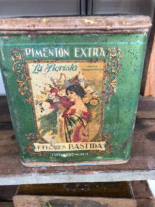 Antigua caja Pimentón Extra - La Florista