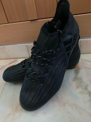Botas de fútbol Adidas X16, talla 45 1/3