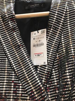 BlazerVestido lentejuelas Zara. de segunda mano por 59 € en