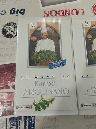 VHS Menús Karlos Arguiñano