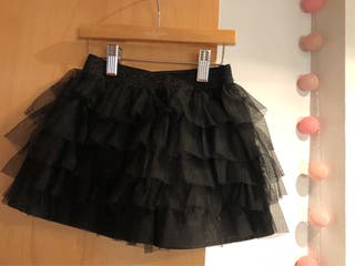 6ff555dc51b Falda negra niña de segunda mano en WALLAPOP
