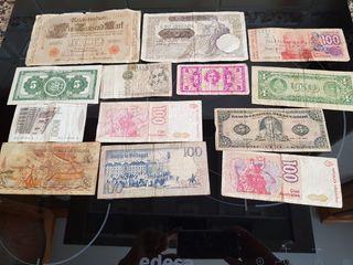 Billetes de coleccion.