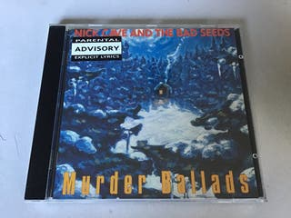 Nick Cave and The Bad Seeds, CD MURDER BALLADS