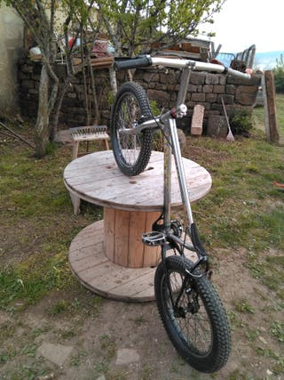 Bici bike trial niño