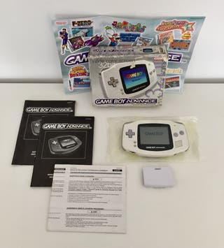 GAMEBOY ADVANCE blanca en caja