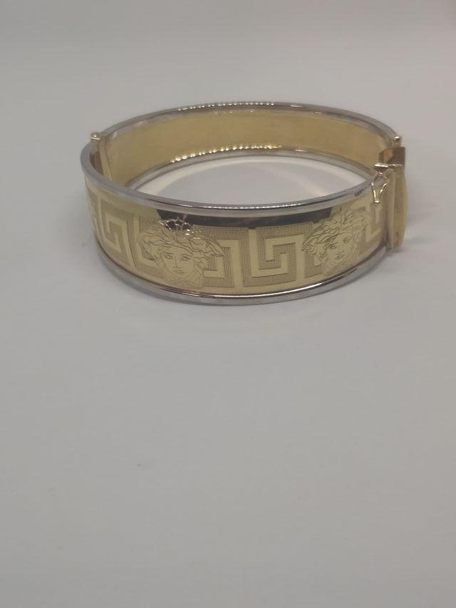 Brazalete Versace oro