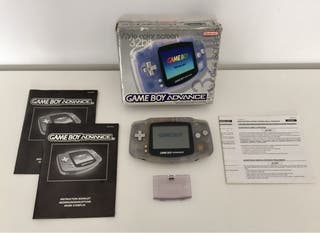 GAMEBOY ADVANCE transparente en caja