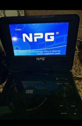 Dvd portátil NPG [Para coches]