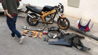 Cambio por pitbike