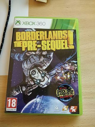 Borderlands presequel Xbox 360